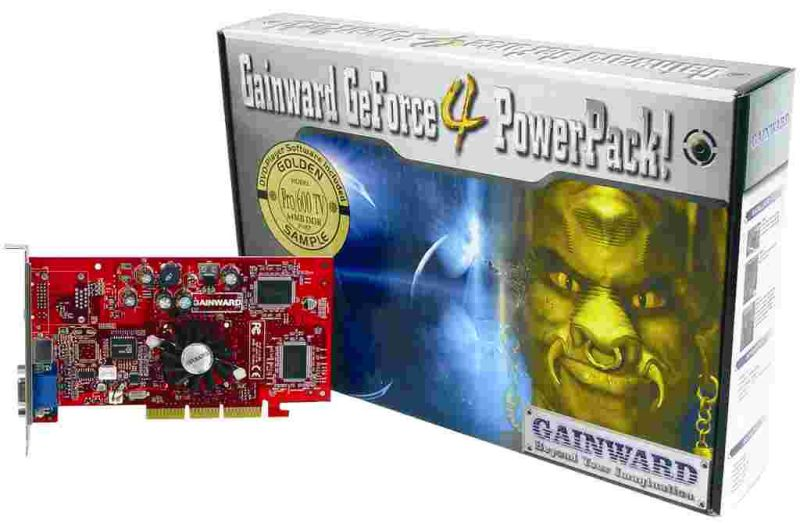 Gainward GeForce4 PowerPack! Pro/600 TV