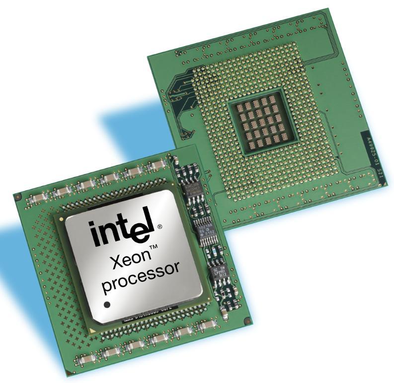 Intel Xeon (Version für Dualprozessorrechner)
