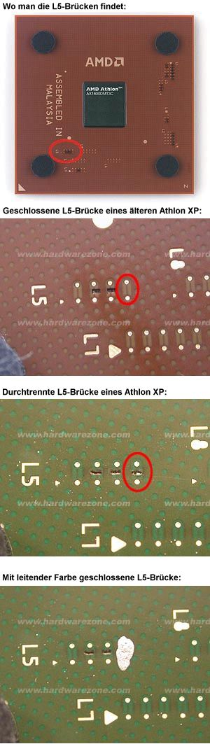 AMD Athlon L5-Brücken