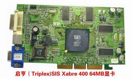 SiS336 Karte