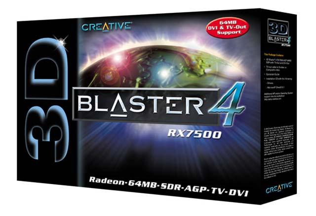 Creative Radeon 7500LE Box