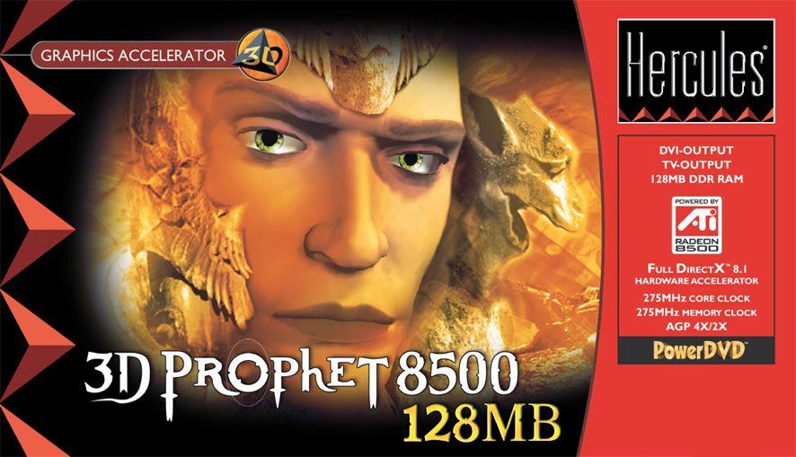 Hercules 3D Prophet 8500 128MB Box