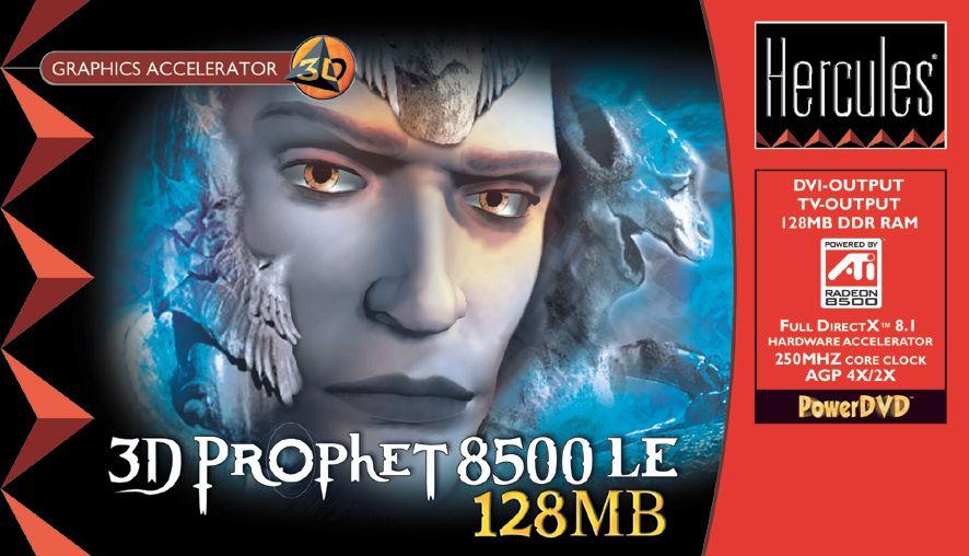 Hercules 3D Prophet 8500 LE 128MB Box