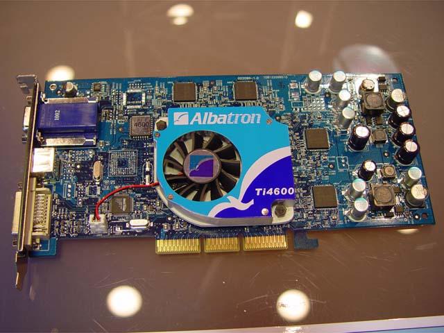 Albatron GeForce4 Ti4600 (Quelle: PC Watch)