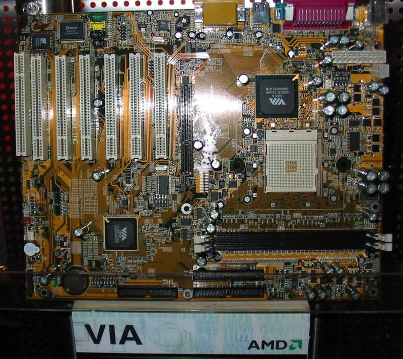 VIA K8HTA Hammer-Mainboard