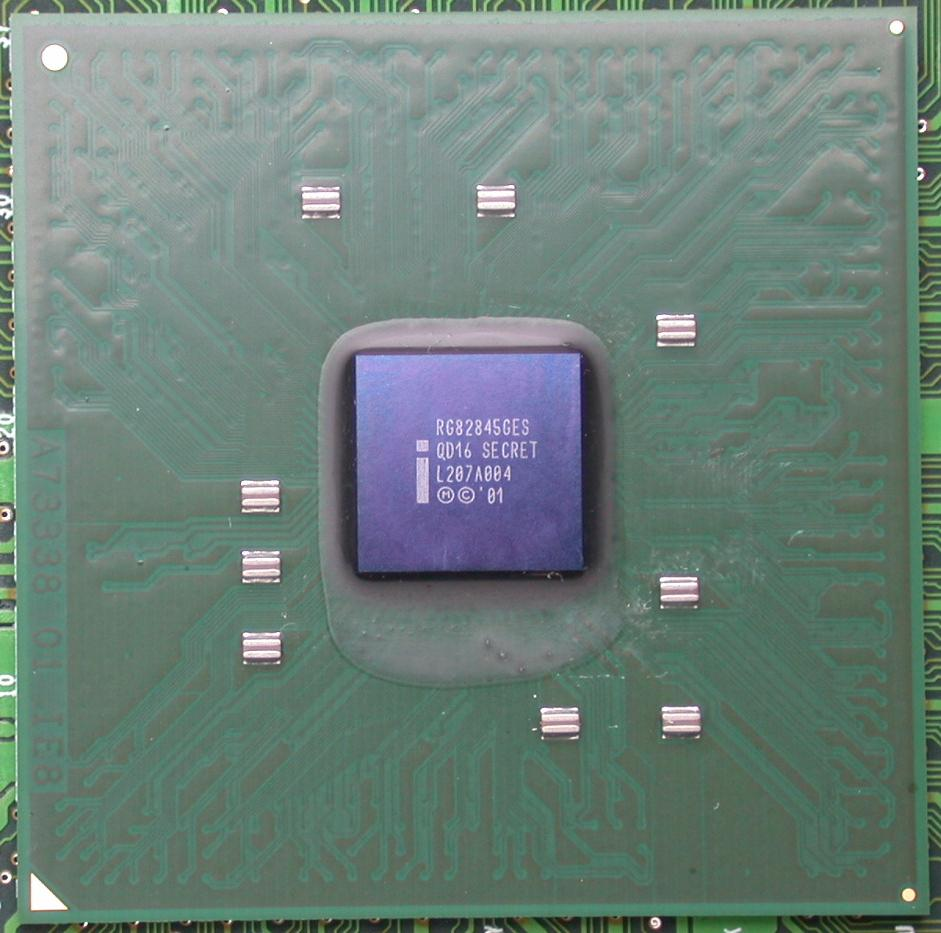 Intels bislang leistungsfähigster DDR-RAM Chipsatz - der i845G