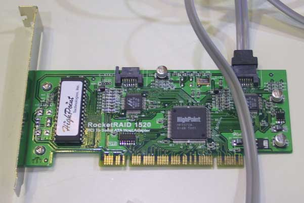 HighPoint RocketRAID 1520 Serial ATA Controller