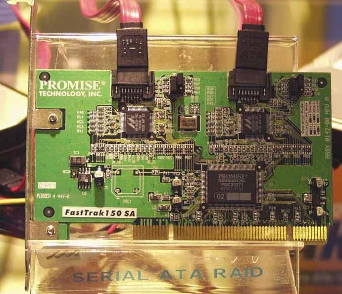 Promise Serial ATA RAID Controller Prototyp