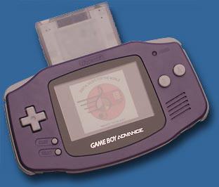 SongPro Modul im GameBoy Advance