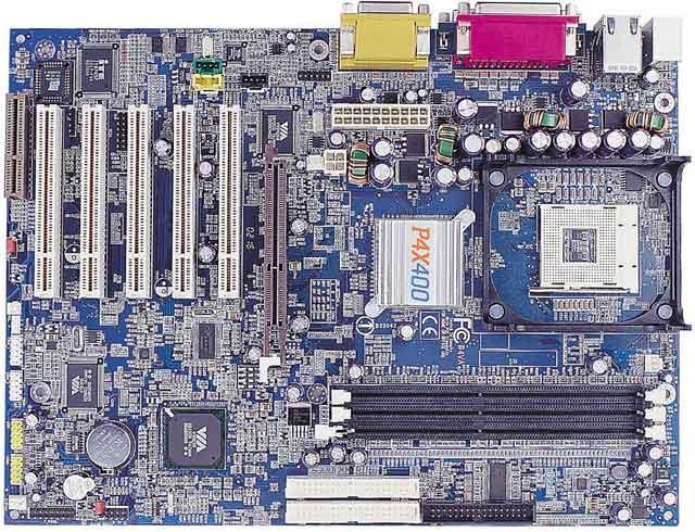 VIA-PSD P4PB 400 Pentium 4 Mainboard