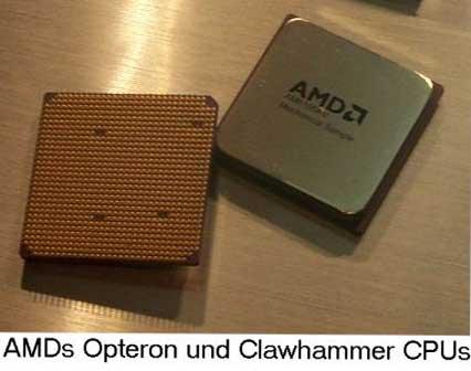 AMD Hammer CPU-Prototypen
