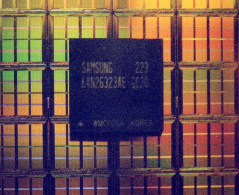 Samsung 128Mbit DDR-II DRAM-Chips