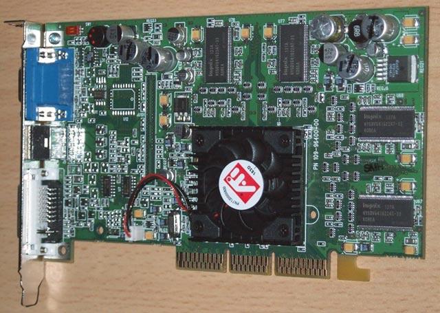 ATI Radeon 9000 Pro 64MB, built by ATI