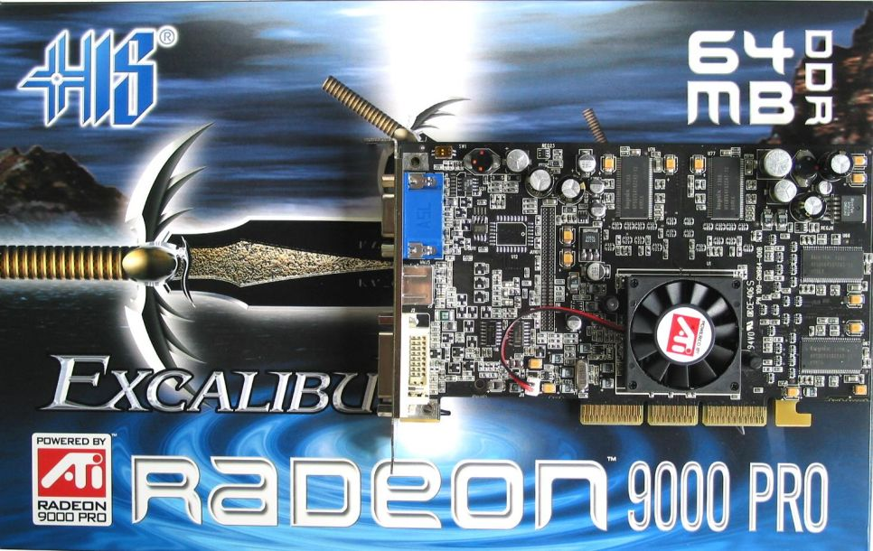 HIS Excalibur Radeon 9000 Pro ViVo