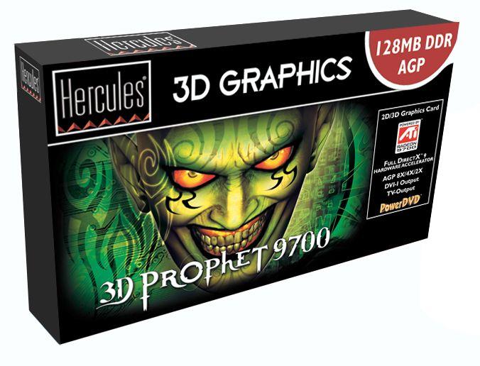 Hercules 3D Prophet 9700 Box
