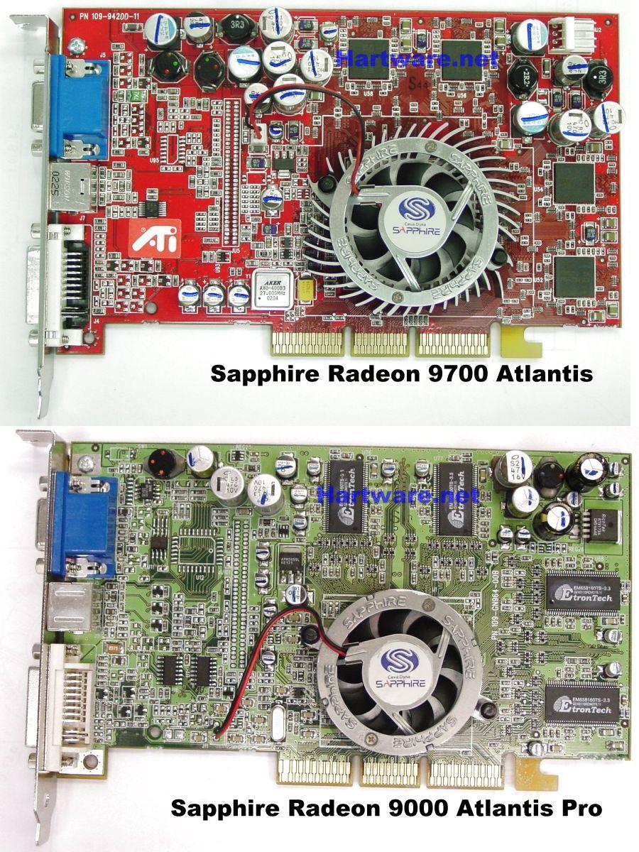 Sapphire Radeon 9700 Atlantis