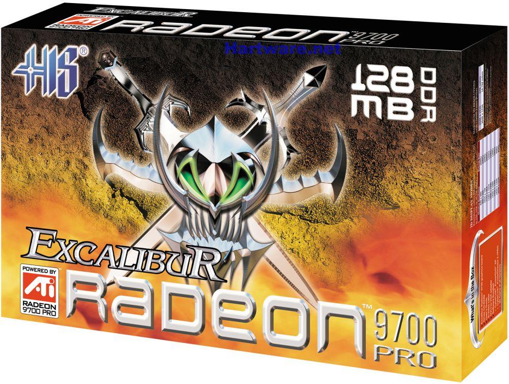 HIS Excalibur Radeon 9700 Pro Box