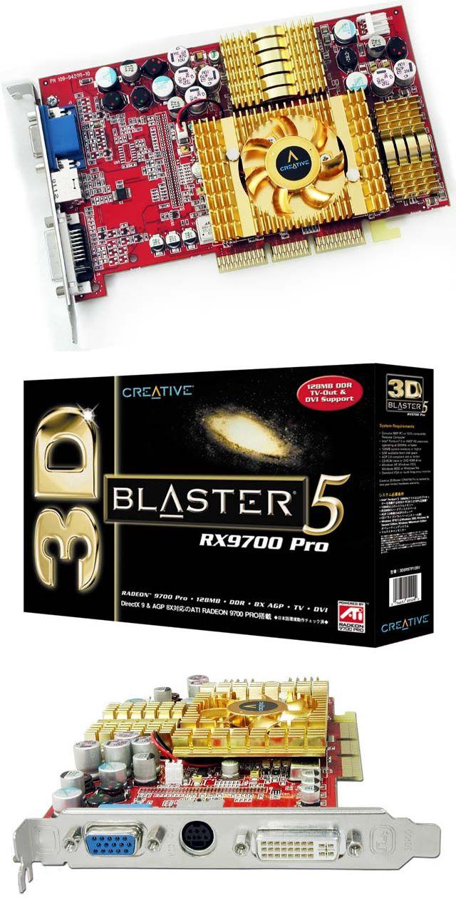 Creative Radeon 9700 Pro