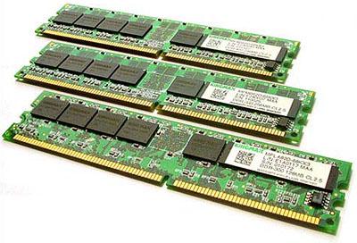 Samsung DDR400 Speichermodule