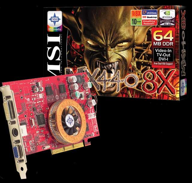 MSI G4MX440 8X