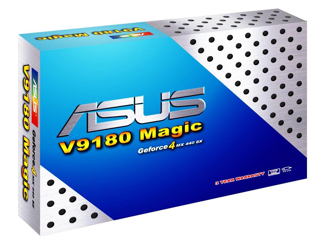 ASUS V9180 Magic Verpackung
