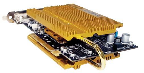 Zalman ZM80-HP Heatpipe Grafikkartenpassivkühler