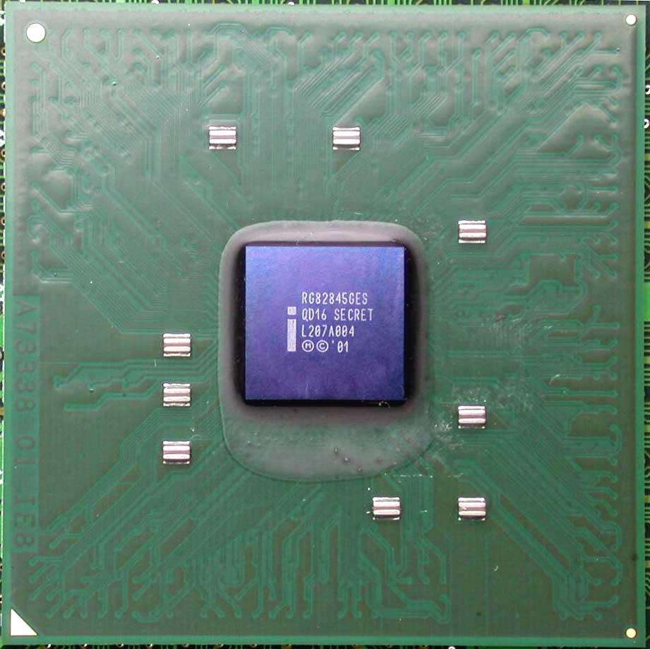 Der i845G-Kern, die Basis für i845PE/i845GE