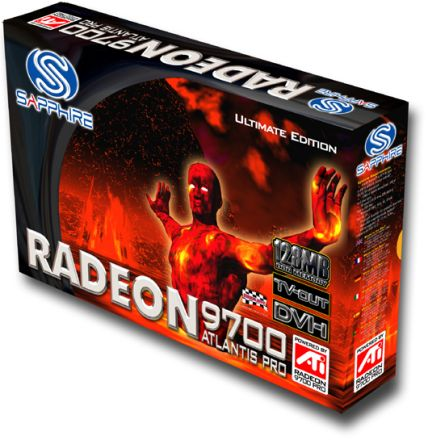 Sapphire Radeon 9700 Atlantis Pro Ultimate Edition Box