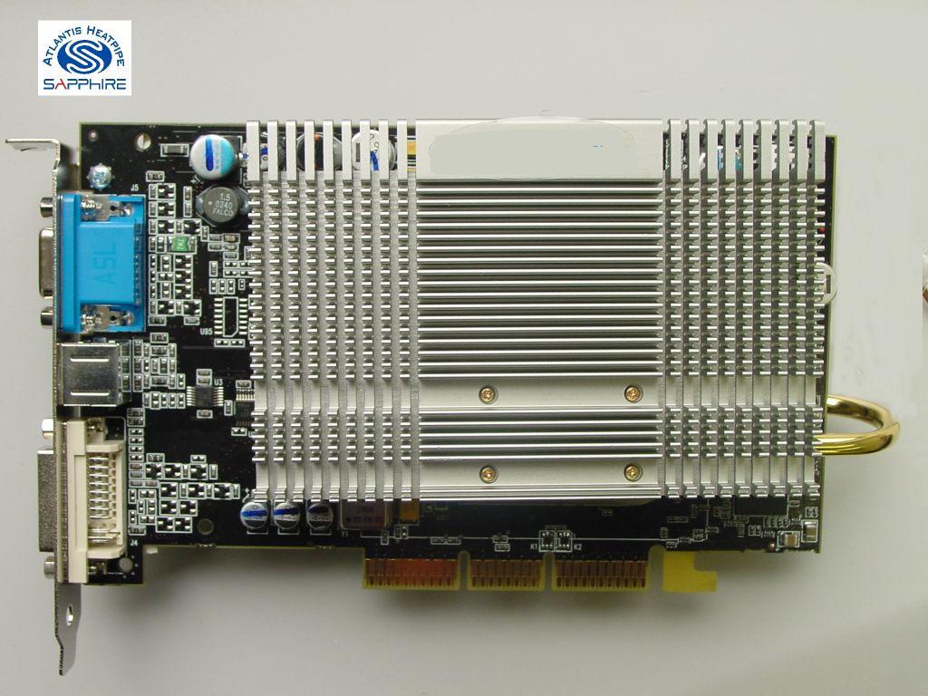 Sapphire Radeon 9700 Atlantis Pro Ultimate Edition Grafikkarte