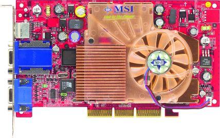 MSI GeForce4 Ti4200-VTP8X