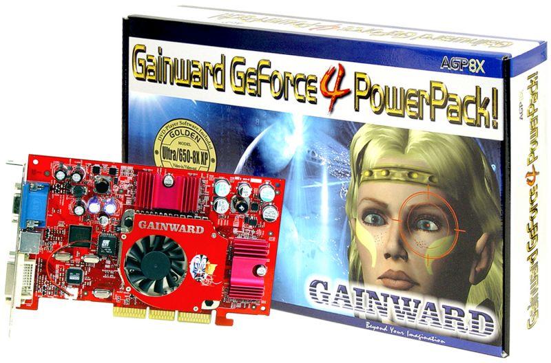 Gainward GeForce4 PowerPack! Modell Ultra/650-8X XP Golden Sample