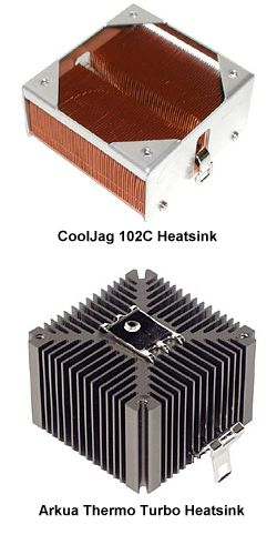 PC-Cooling: CoolJag 102C und Arkua Thermo Turbo 6229