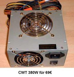 Overclockers: CWT-380ADP Netzteil