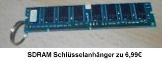 PCTweaker: SDRAM-Schlüsselanhänger