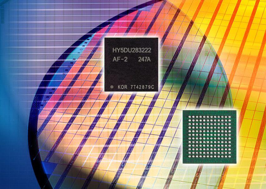 Hynix 500MHz DDR-I SDRAM Chip