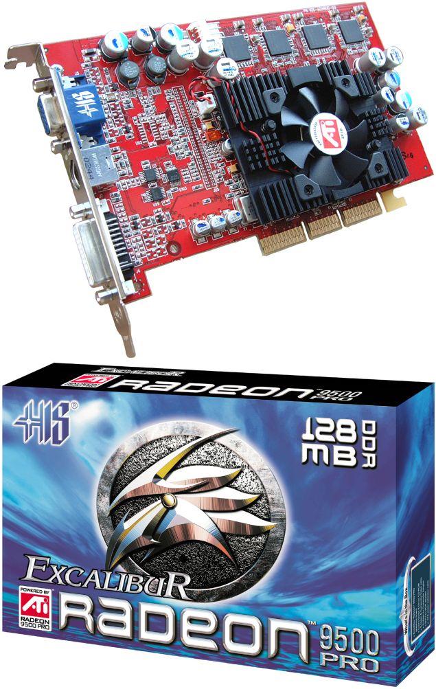 HIS Excalibur Radeon 9500 Pro