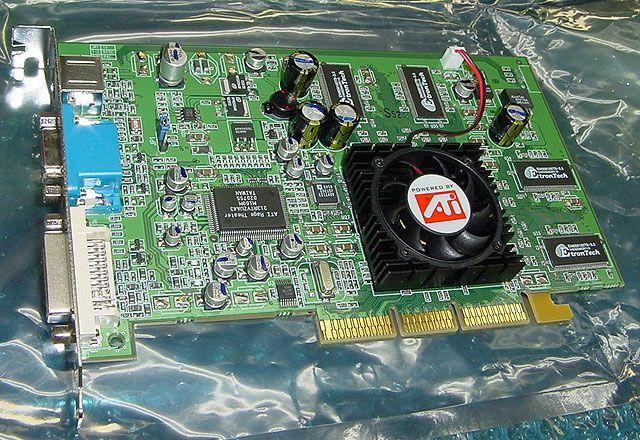 Sapphire Radeon 9100 Karte