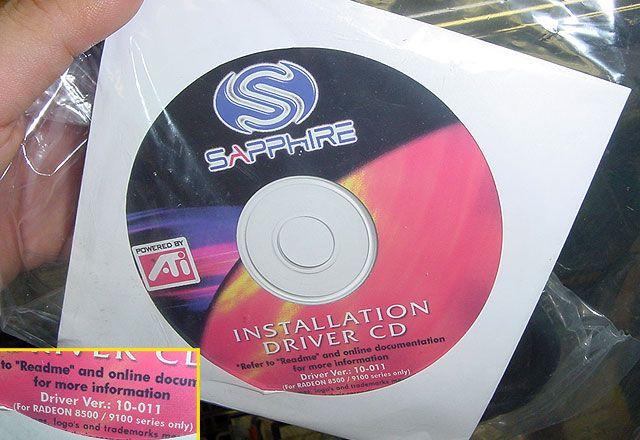 Sapphire Radeon 9100 Treiber-CD