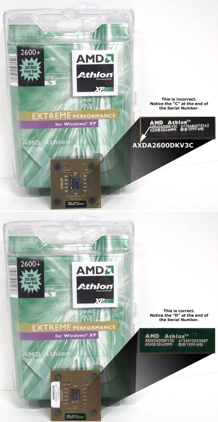 Athlon XP 2600+ Boxed