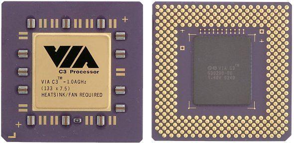 VIA C3 mit 1 GHz