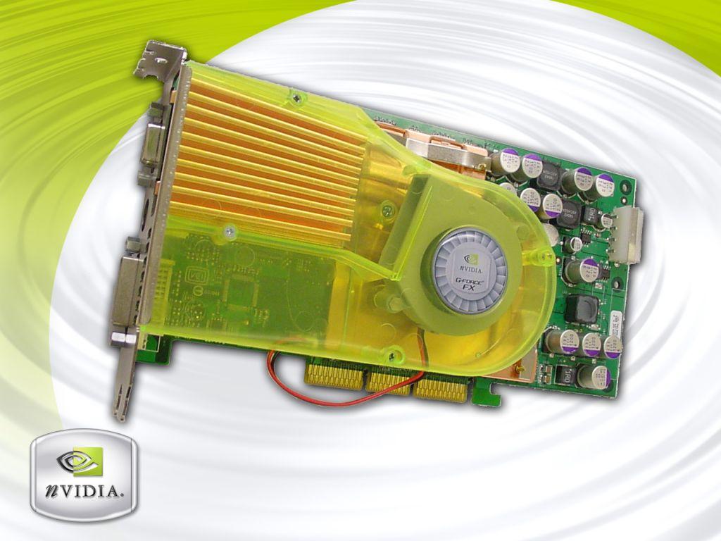 nVidia GeForce FX Prototyp