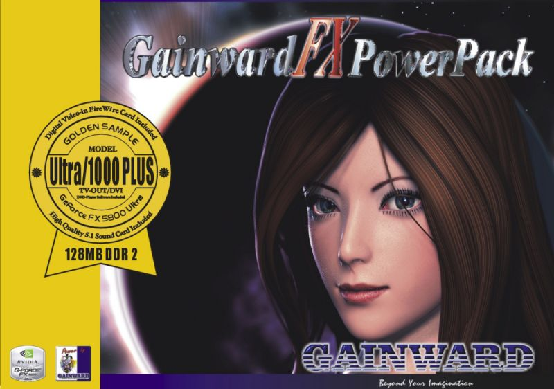 Gainward FX PowerPack! Model Ultra/1000 Plus ''Golden Sample''