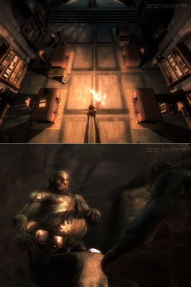 3DMark03 Screenshot
