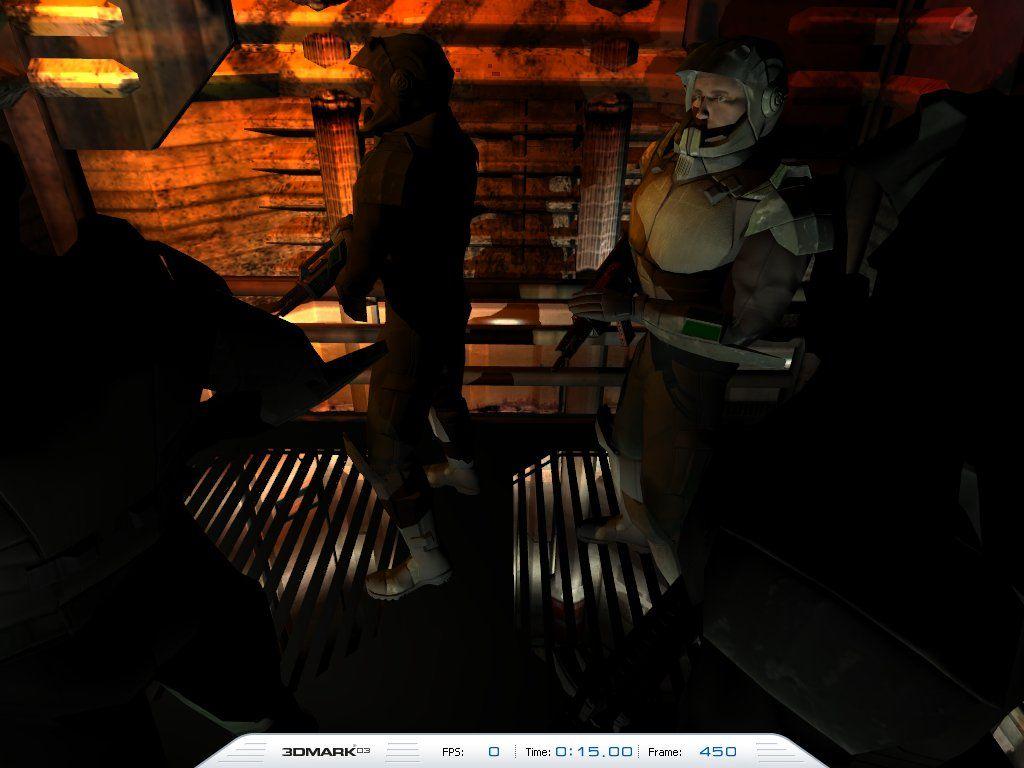 3DMark03 - Game 2 - Battle of Proxycon