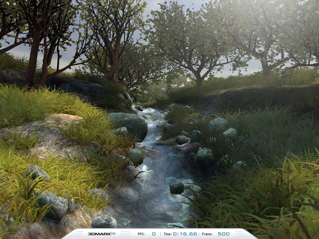 3DMark03 - Game 4 - Mother Nature
