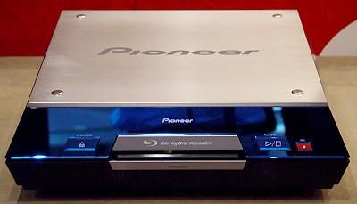 Blu-ray Recorder Prototyp von Pioneer