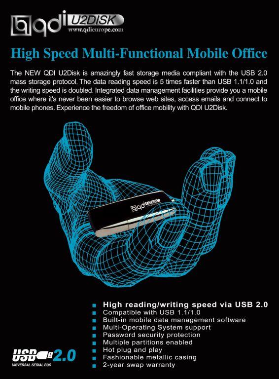 QDI USB-Disk v4.0 Infos