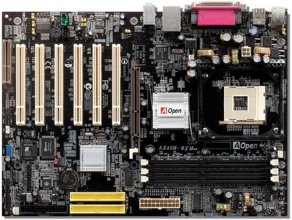 AOpen AX45H-8X SiS648-Board
