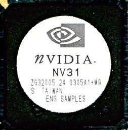 nVidia NV31 Chip (GF FX 5600)