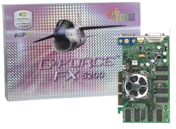 Sparkle GeForce FX 5200